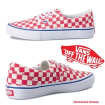 VANS ERA Other Check Patterns Unisex Sneakers
