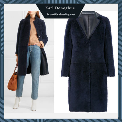 Fur Long Cashmere & Fur Coats