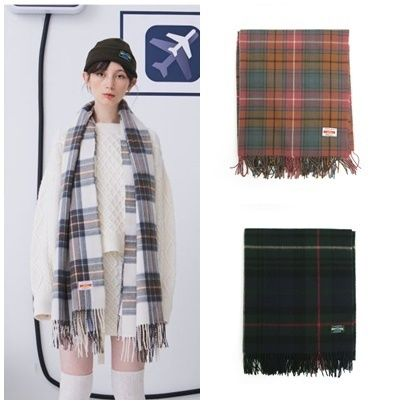 Other Check Patterns Unisex Heavy Scarves & Shawls