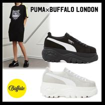 Buffalo LONDON Platform Lace-up Casual Style Platform & Wedge Sneakers