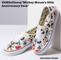 VANS AUTHENTIC Other Check Patterns Unisex Other Animal Patterns Sneakers