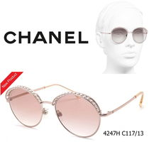 CHANEL With Jewels Sunglasses