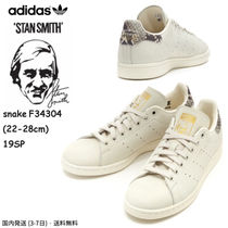adidas STAN SMITH Unisex Street Style Plain Other Animal Patterns Leather