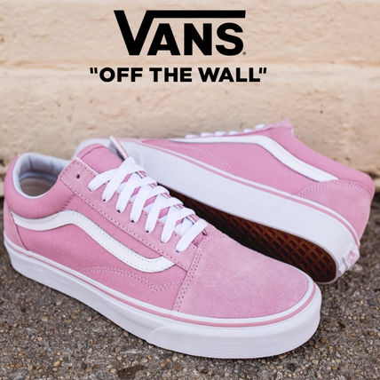 21e5c02b39 ... VANS Low-Top Flower Patterns Lace-up Casual Style Unisex Street Style  ...