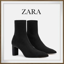 ZARA Casual Style Boots Boots