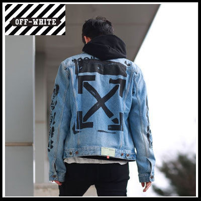 Off-White More Jackets Street Style Jackets
