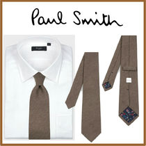 Paul Smith Cashmere Street Style Plain Ties