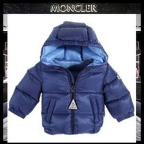 MONCLER Blended Fabrics Street Style Baby Girl Outerwear