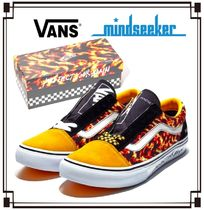 VANS Suede Street Style Collaboration Bi-color Sneakers