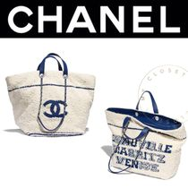 CHANEL ICON Chain Oversized Mothers Bags