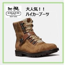 Coach Mountain Boots Street Style Leather Outdoor Boots