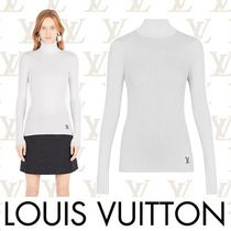 Louis Vuitton Short Casual Style Wool Long Sleeves Plain Turtlenecks