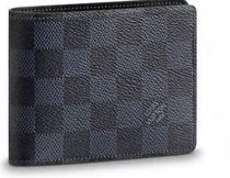 Louis Vuitton DAMIER COBALT Folding Wallets