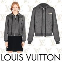 Louis Vuitton Short Wool Long Sleeves Plain Cropped