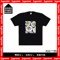 Supreme Pullovers Street Style Cotton Short Sleeves T-Shirts