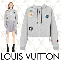 Louis Vuitton Short Long Sleeves Plain Cotton Cropped