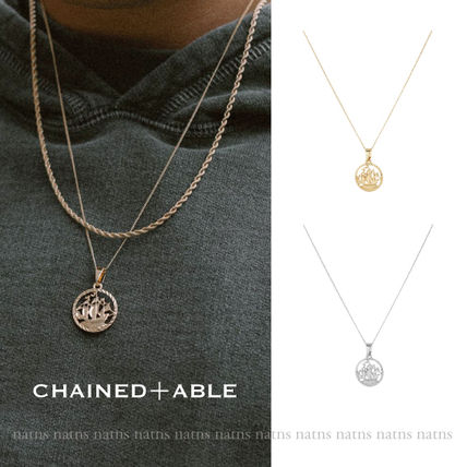 Unisex Street Style Chain Metal Necklaces & Chokers