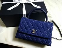 CHANEL Denim 2WAY Handbags