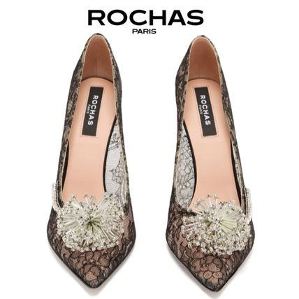ROCHAS More Pumps & Mules