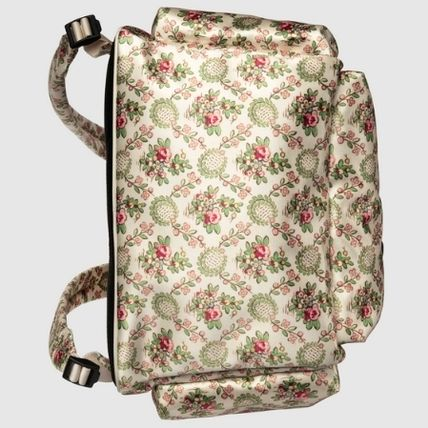 GUCCI Flower Patterns Street Style Backpacks (536743 9W4BX 9068) by ... c1788a2417bc7