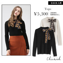 Chicwish Leopard Patterns Long Sleeves Sweaters