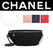 CHANEL SPORTS Casual Style Street Style 2WAY Plain Shoulder Bags