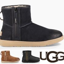 UGG Australia CLASSIC MINI Plain Toe Suede Plain Oxfords