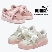 PUMA SUEDE Blended Fabrics Street Style Baby Girl Shoes