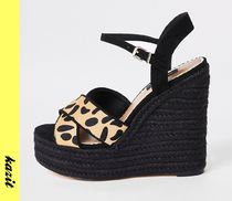 River Island Casual Style Faux Fur Other Animal Patterns