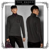 TED BAKER Long Sleeves Plain Knits & Sweaters