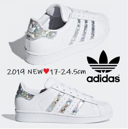 adidas SUPERSTAR 2019 SS Petit Kids Girl Sneakers (CG6708, F33889)