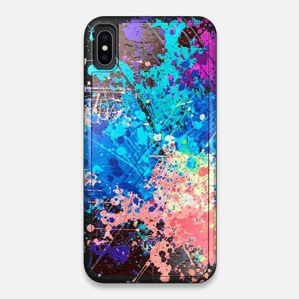 Unisex Tie-dye Handmade Made of Wood Smart Phone Cases