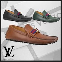 Louis Vuitton Loafers Plain Leather U Tips Loafers & Slip-ons