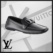 Louis Vuitton Driving Shoes Plain Leather U Tips Loafers & Slip-ons