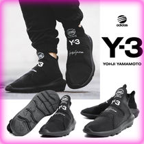 Y-3 Unisex Street Style Collaboration Low-Top Sneakers