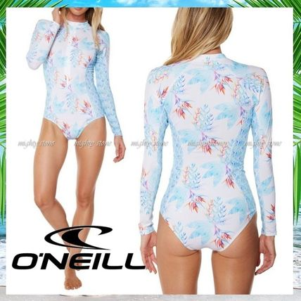 Flower Patterns Tropical Patterns Swimwear