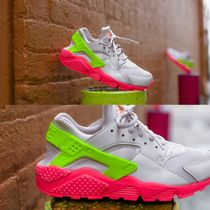 Nike AIR HUARACHE Casual Style Unisex Street Style Plain Low-Top Sneakers