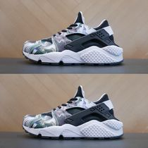 Nike AIR HUARACHE Camouflage Casual Style Unisex Street Style Low-Top Sneakers
