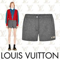 Louis Vuitton Short Casual Style Wool Plain Shorts