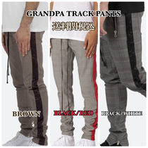 MNML Tapered Pants Other Check Patterns Tapered Pants