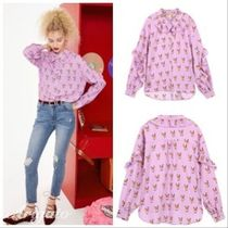 ELF SACK Casual Style Street Style Long Sleeves Other Animal Patterns