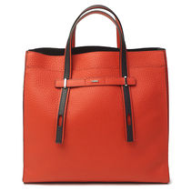 FURLA A4 2WAY Bi-color Leather Totes
