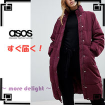 ASOS Street Style Plain Long Down Jackets