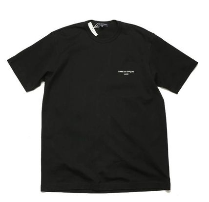 COMME des GARCONS More T-Shirts Crew Neck Unisex Street Style Cotton Short Sleeves 5