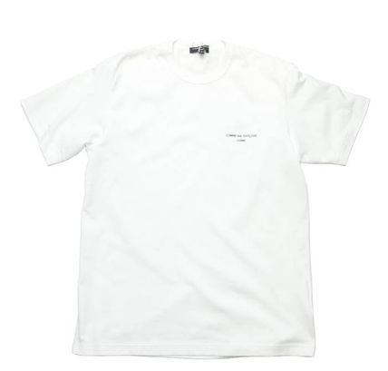COMME des GARCONS More T-Shirts Crew Neck Unisex Street Style Cotton Short Sleeves 3