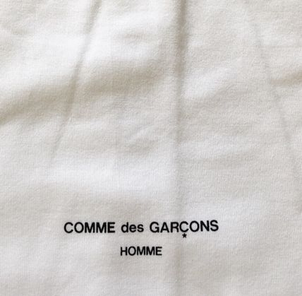 COMME des GARCONS More T-Shirts Crew Neck Unisex Street Style Cotton Short Sleeves 9