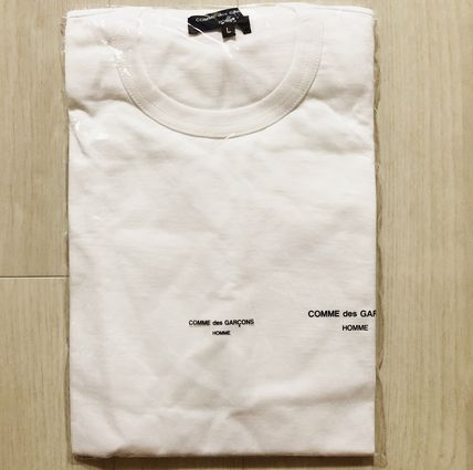 COMME des GARCONS More T-Shirts Crew Neck Unisex Street Style Cotton Short Sleeves 10