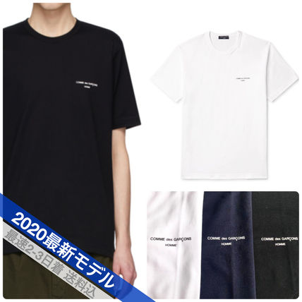 COMME des GARCONS More T-Shirts Crew Neck Unisex Street Style Cotton Short Sleeves