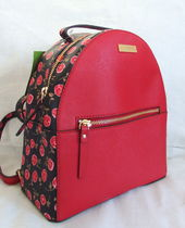 kate spade new york Flower Patterns Leather Backpacks