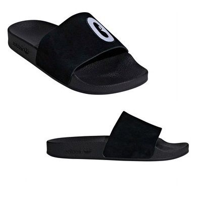 9eef74865fb54 ... adidas Flat Casual Style Unisex Faux Fur Street Style Plain Shower Shoes  ...